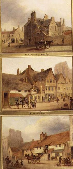Edinburgh: Nine Views of the Old Town, At Main Point West Port, In Grass Market, In Pleasance