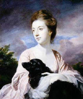 Lady Charles Spencer (oil on canvas)