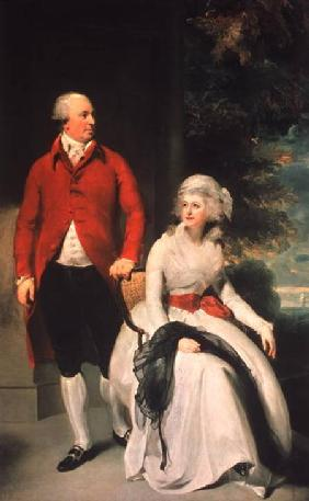 Mr John Julius Angerstein (1735-1823) and his Second Wife, Eliza Payne (1748-1800)