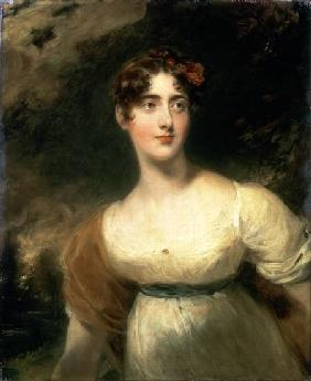 Portrait of Lady Emily Harriet Wellesley-Pole, later Lady Raglan