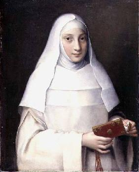 Portrait of the artist's sister in the garb of a nun