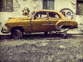 Old car/cat