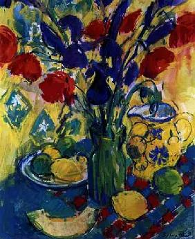 Poppies with Iris, 1999