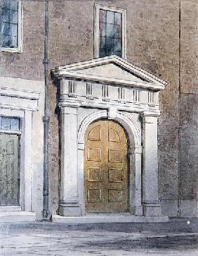 The Entrance to Masons'' Hall