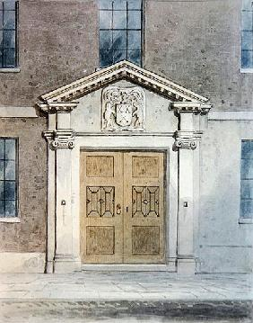 The Entrance to the Cutlers Old Hall