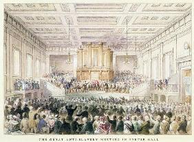 The Great Anti-Slavery Meeting of at Exeter Hall