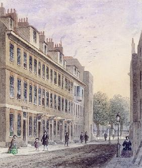 View of Fludyer Street, looking towards St. James''s Park