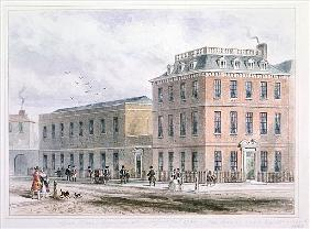 View of Soho Square and Carlisle House