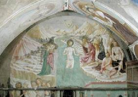 The Baptism of Christ, from the Cycle of the Life of St. John the Baptist