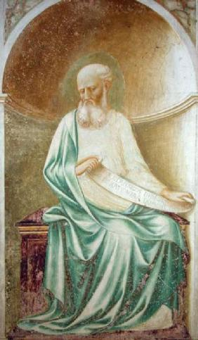 The Prophet Isaiah, from the intrados of the apse