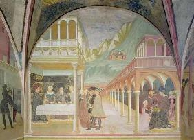 The Banquet of Herod, from the Cycle of the Life of St John the Baptist (fresco)
