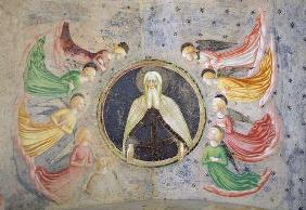 The Eternal Father surrounded by Angels (fresco)