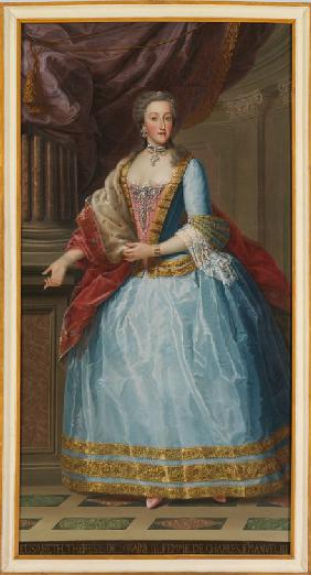 Elisabeth Therese of Lorraine (1711-1741), Queen of Sardinia