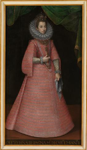 Portrait of the Infanta Catherine Michelle of Spain (1567-1597)