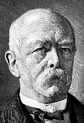 Portrait of Chancellor Otto von Bismarck (1815-1898)