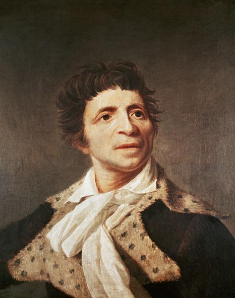 Portrait of Jean-Paul Marat (1743-1793). After Joseph Boze