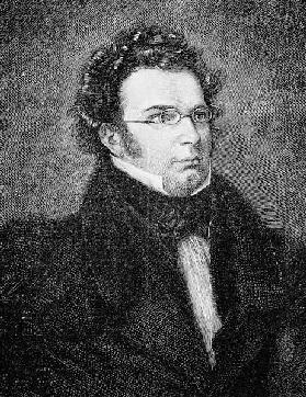 Franz Schubert (1797-1828) (After Watercolour portrait by Wilhelm August Rieder)