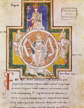 The Wheel of Fortune (Rota Fortunae) from Carmina Burana