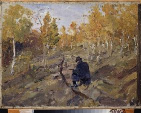 Konstantin Korovin at the work