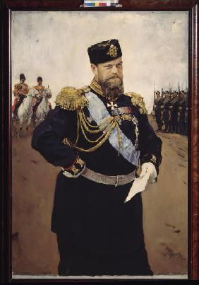 Portrait of the Emperor Alexander III (1845-1894)