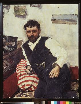 Portrait of the artist Konstantin Korovin (1861-1939)