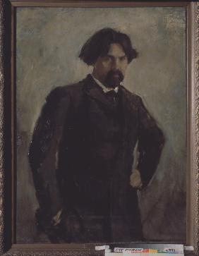 Portrait of the artist Vasily Surikov (1848-1916)