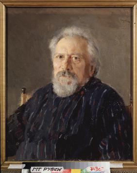 Portrait of the author Nikolai Leskov (1831-1895)
