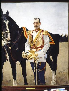 Portrait of Grand Duke Paul Alexandrovich of Russia (1860-1919)