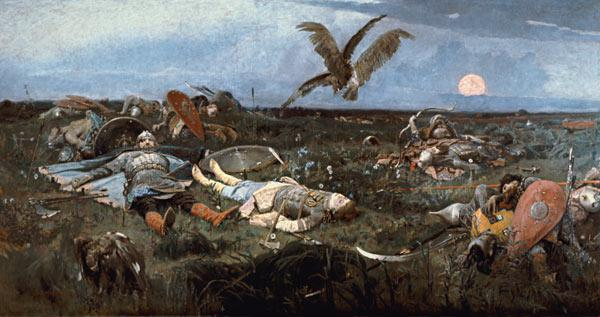 After the Battle between Prince Igor Svyatoslavich of Kiev and the Polovtsy