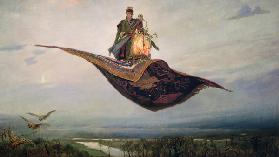 Riding a Flying Carpet