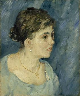 Portrait of a Lady in Blue