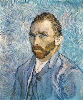 Vincent van Gogh/Self-portrait/1889/90