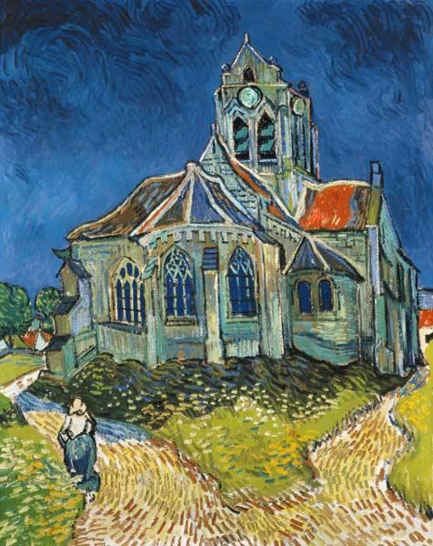 The Church at Auvers-sur-Oise