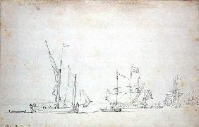 Ships from Sluis