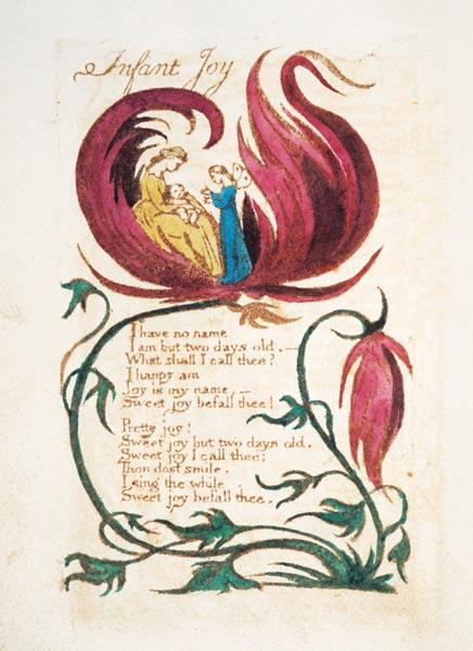 Infant Joy, from Songs of Innocence