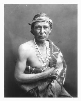 The Medicine Man, c.1915 (b/w photo)